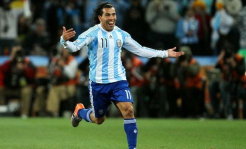 Tevez really wants to play the World Cup with Argentina